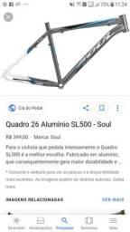 VENDO QUADRO BIKE SOUL sl 500 R$250.00