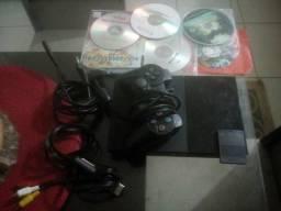 Playstation 2 muito conservado