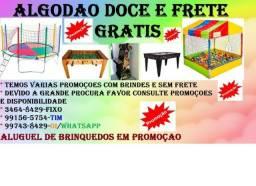 Locaçao/aluguel de brinquedos com frete e algodao doce gratis,brinquedos venda/aluguel