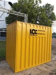 Locação e venda de container