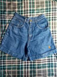 Short vintage cintura alta tam. 40