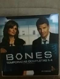 Série de TV Bones da 1 a 4 temporada 23 cds
