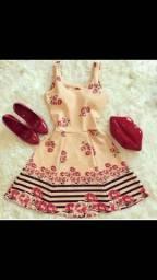 Lindos vestido e macaquinhos