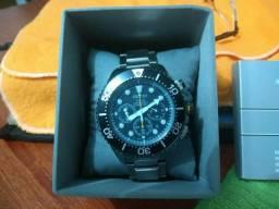 Relógio Seiko Solar Cronômetro Submarino 200 MTS usado ótimo Estado