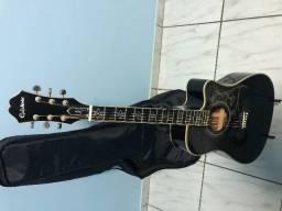 Violão Folk Epiphone Dave Navarro Preto Signature