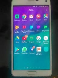 Samsung galaxy not 4 aceito troca