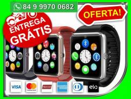 Smart Watch 4G Apple Watch Bluetooth Android Relogio -Novo- Entrega Grátis