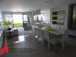 Excelente Apartamento na Ponta Verde com 3 Suítes, 3 vagas, 150 m², Nascente