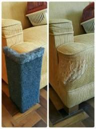 Chega de sofá arranhado! Protetor de sofá