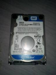 Hd de 500 GB semi novo