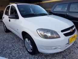 Gm - Chevrolet Celta 1.0 Ls Flex + Abaixo da Fipe + Financio 100% - 2012