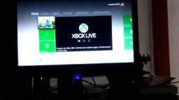 Xbox 360 destravado na rgh +1 controle original