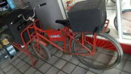 Bicicleta de som propaganda