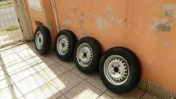 Rodas Fusca e pneus