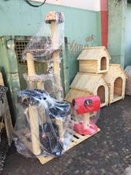 Arranhador casinha gato e cachorro