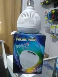 Lâmpada musical bluetooth