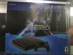 Playstation 4 slim de 1 tera com 1 jogo