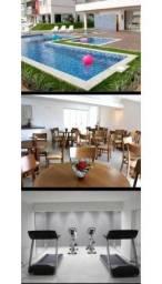 Apartamento 03 quartos, 02 vagas, varanda com churrasqueira em Porto Velho