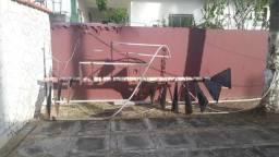 Escada de ferro/ na ilha