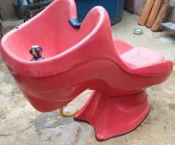 Vendo lavatório usado