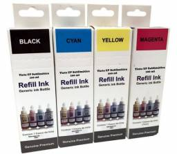Refil tinta 4 X 75ml Tinta Sublimatica Modelos Epson