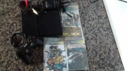 Playstation 2 conservado e barato(leia anuncio)