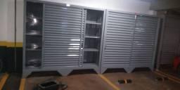 Armário de aço para garagem e casa