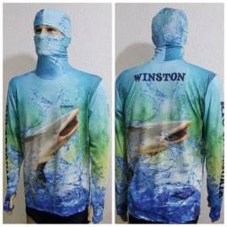Camisetas Personalizadas Ninja Pescador UV