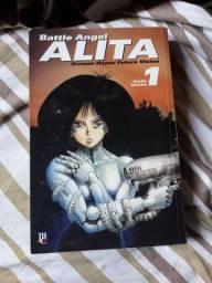 Mangá Alita: Anjo de Combate Vol. 1 ao 4