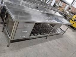 JM Industria de mobília em aço inox sob medida