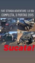 Peças/Sucata Fiat Strada Adventure 1.8 16v CD 3 Portas Completa