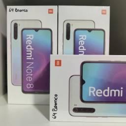 Alucinante! Redmi Note 8 da Xiaomi. Novo lacrado com garantia e entrega