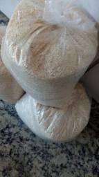 Farinha artesanal de mandioca