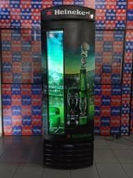Cervejeira metal frio Heineken 497 litros