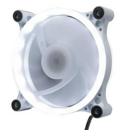 Cooler Gabinete 32 LEDs Branco 120 mm OEX F50