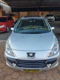 PEUGEOT 307 PREMIUM ANO 2012,AUTOMÁTICO, TETO SOLAR, BANCOS EM COURO R$25.900