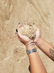 A melhor areia p sua construção
