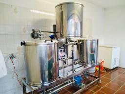 Cervejaria 180 litros tribloco AGM seminova