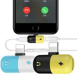 Adaptador 2 em 1 para Iphone