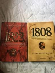 Livros 1808 e 1822 - Laurentino Gomes