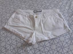 Short jeans curto Abercrombie (P)