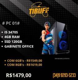 PC Gamer i5 3470s - 4GB's - SSD | Cobrimos Ofertas!!