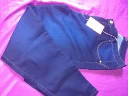 Calça jeans plus size feminina tamanho 56.