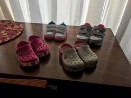 Calçados para menina