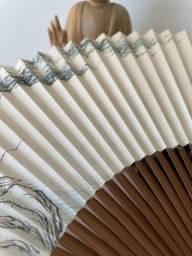 Título do anúncio: Leque Oriental de Bambu- Japonês
