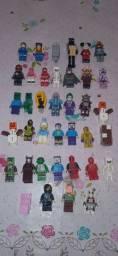 Bonecos Lego Minecraft