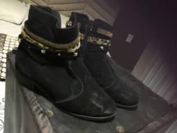 Vendo bota usada