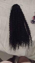 Rabo de cavalo de cabelo orgânico 80 cm