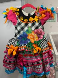 Vestido de São João Alta costura