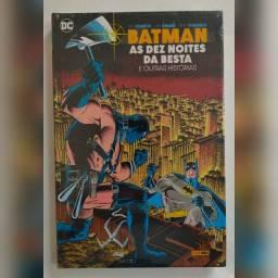 HQ: Batman As Dez Noites da Besta. Promoção, antes 75,00 agora 70,00 (NOVO).